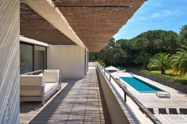 Terrace of Gassin, Var Coast, French Riviera, 83580
