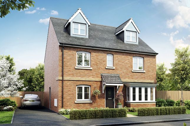 "Thumbnail Detached house for sale in ""The Fletcher"" at Court Road, Brockworth, Gloucester"