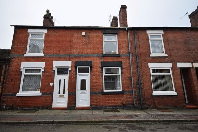 Thumbnail Terraced house for sale in Woodman Street, Milton, Stoke-On-Trent