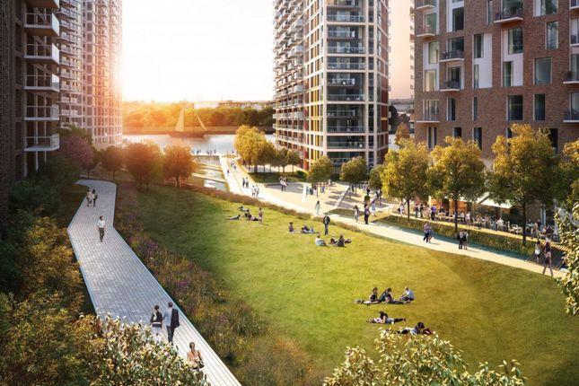 Thumbnail Flat to rent in Royal Arsenal Riverside, London