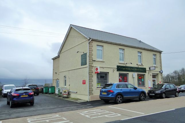 Thumbnail Retail premises for sale in 2 Saron Road, Saron, Ammanford, Carmarthenshire