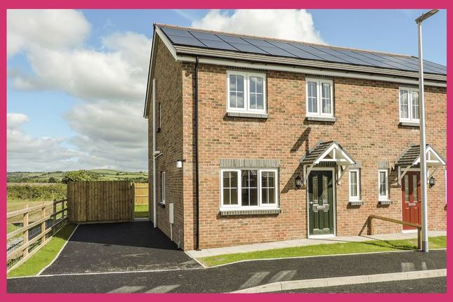 Thumbnail Semi-detached house for sale in Plot 17, Maes Y Llewod, Bancyfelin
