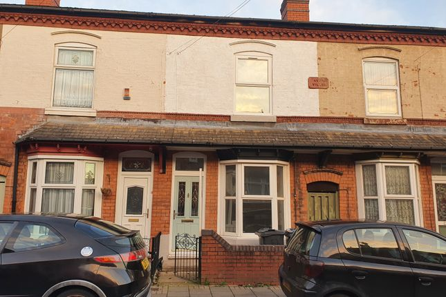 4 bed terraced house for sale in Dolphin Road, Sparkhill, Birmingham B11