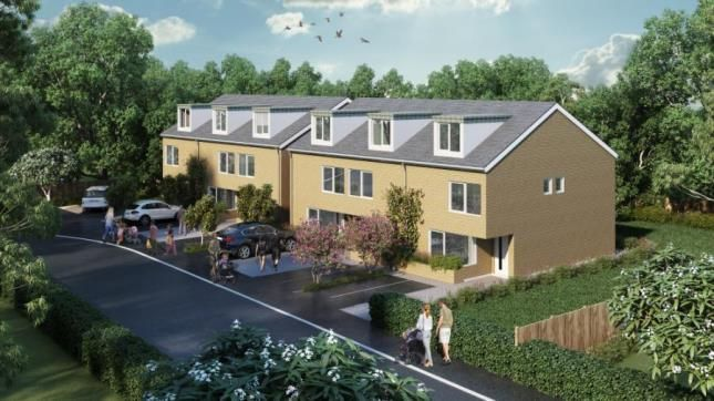 Thumbnail End terrace house for sale in Sharp Close, Water Lane, Flitwick