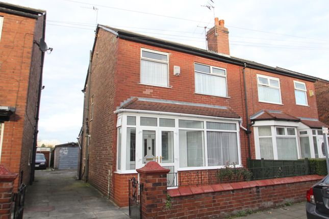 Thumbnail Semi-detached house for sale in Beresford Road, Stretford, Manchester