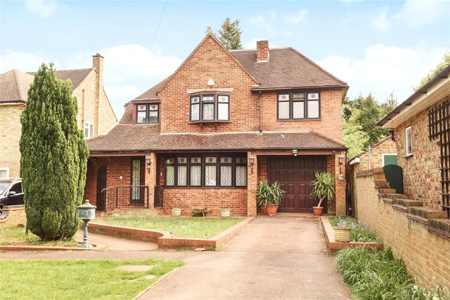 Thumbnail Detached house for sale in Woodstock Drive, Ickenham, Middlesex
