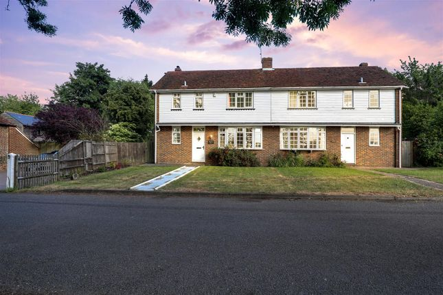 Thumbnail Semi-detached house for sale in The Street, Wormshill, Sittingbourne