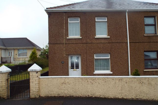 3 bed semi-detached house for sale in Church Road, Gorslas, Llanelli