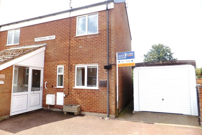3 bed semi-detached house to rent in Tattershall Walk, Mansfield Woodhouse, Mansfield NG19