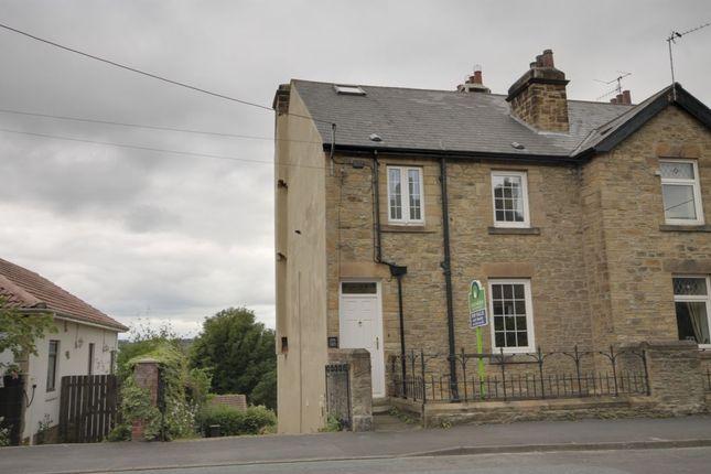 Thumbnail Semi-detached house for sale in Benfieldside Road, Shotley Bridge, Consett