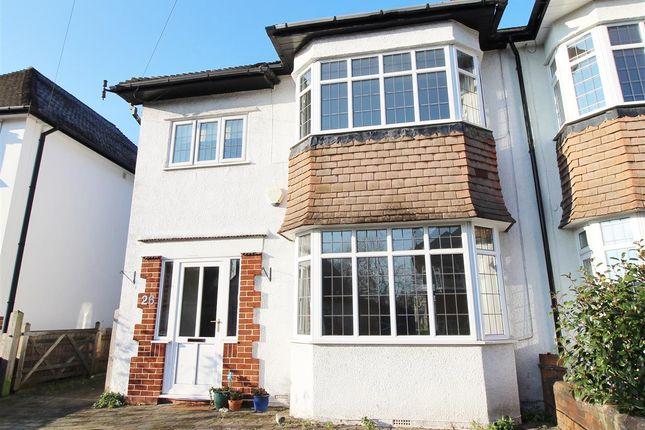 Thumbnail Semi-detached house for sale in Brean Down Avenue, Bristol
