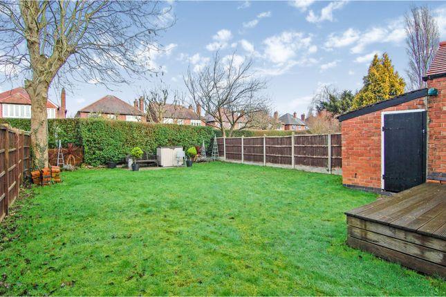 Garden of Davies Road, West Bridgford, Nottingham NG2