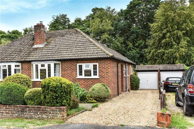 Thumbnail Semi-detached bungalow for sale in Forest End, Fleet, Hampshire