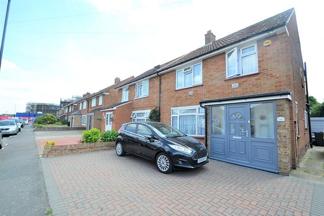 Thumbnail Semi-detached house for sale in The Gardens, Feltham