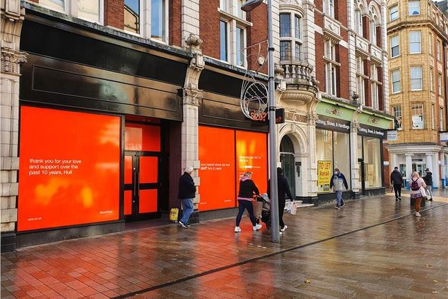 Retail premises to let in King Albert Chambers, Jameson Street, Hull, East Riding Of Yorkshire