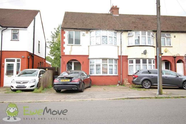 Thumbnail Semi-detached house to rent in Chester Avenue, Leagrave, Luton