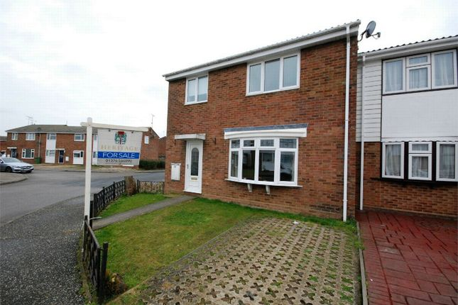 Thumbnail End terrace house for sale in Yare Avenue, Witham, Essex