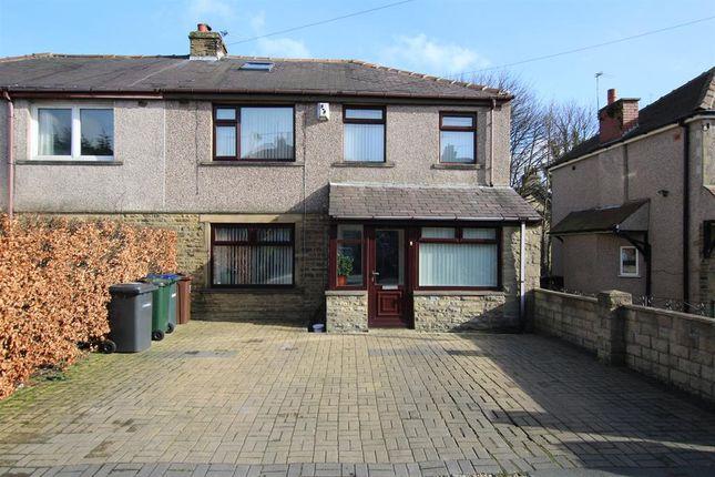 Thumbnail Semi-detached house for sale in Thorn Drive, Heaton, Bradford