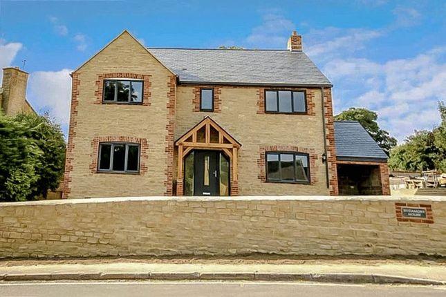 Thumbnail Detached house for sale in Sevenhampton, Swindon