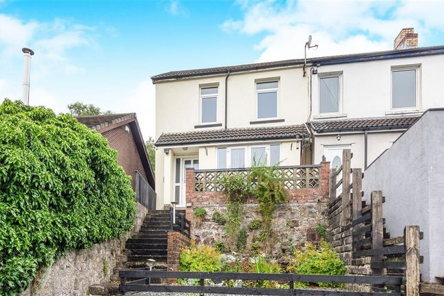 Thumbnail End terrace house to rent in Pleasant View, Cilsanws Lane, Cefn Coed
