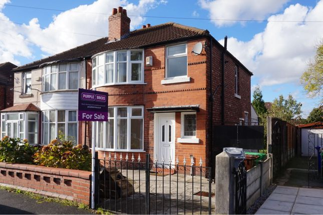 Thumbnail Semi-detached house for sale in Leighbrook Road, Manchester