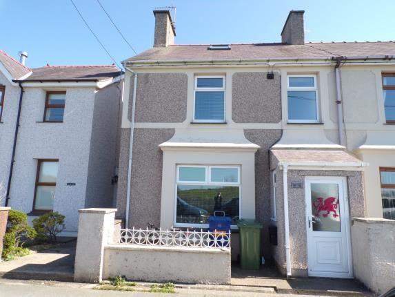 Thumbnail End terrace house for sale in West End Road, Penygroes, Caernarfon, Gwynedd