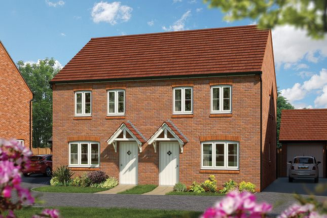 "Thumbnail Semi-detached house for sale in ""The Holly"" at Harbury Lane, Heathcote, Warwick"