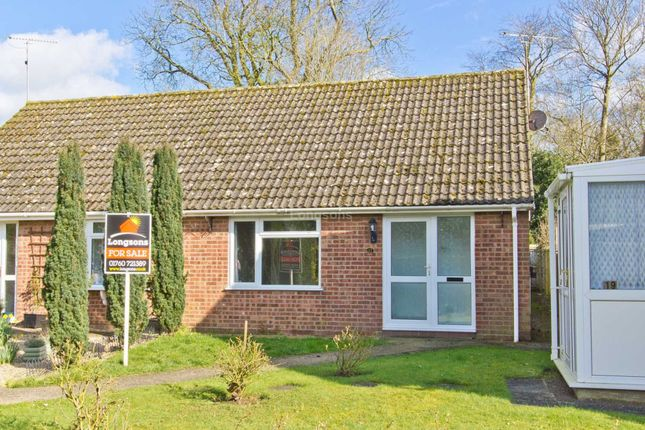 Thumbnail Semi-detached bungalow for sale in Peakhall Road, Tittleshall, King's Lynn