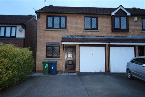 Thumbnail 3 bed semi-detached house to rent in Glamis Drive, Stone