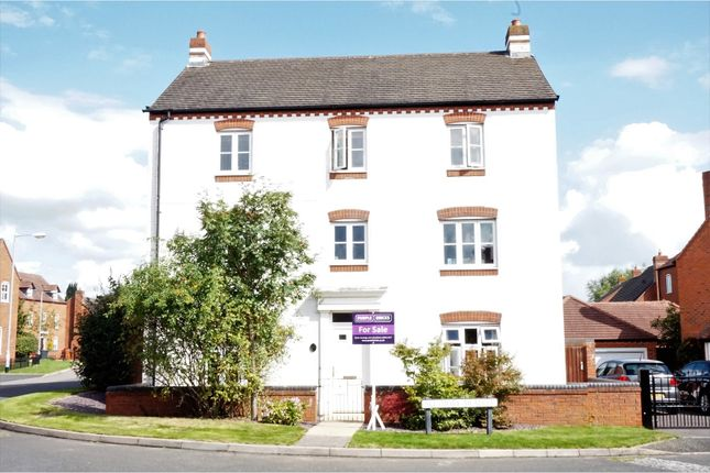 Thumbnail Detached house for sale in Alesmore Meadow, Lichfield