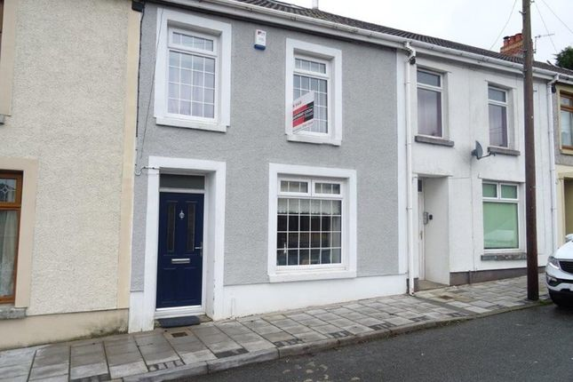 Thumbnail Terraced house for sale in Oakland Terrace, Rhymney, Tredegar