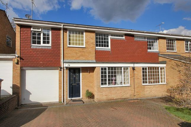 Thumbnail Semi-detached house for sale in Hazel Way, Crawley Down, West Sussex