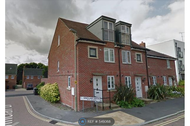 Thumbnail End terrace house to rent in Sinclair Drive, Basingstoke