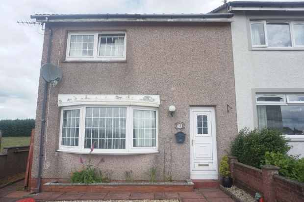 Thumbnail Terraced house for sale in Gladsmuir, Lanark, Lanarkshire