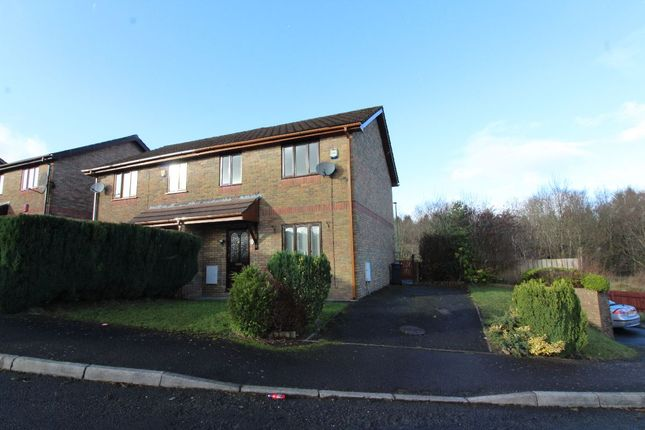 Thumbnail Semi-detached house to rent in Willow Close, Ebbw Vale