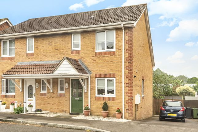 Thumbnail Semi-detached house for sale in Sunnyfield Rise, Bursledon, Southampton, Hampshire