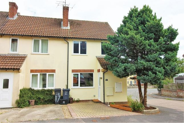 Thumbnail Terraced house to rent in Campion Gardens, Chard