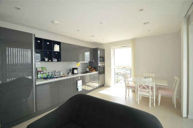 Thumbnail Flat for sale in Cassia Point, Glasshouse Gardens, London