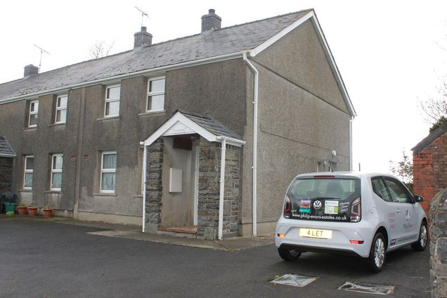 Thumbnail End terrace house to rent in Pen Y Berth, Tynreithin, Tregaron