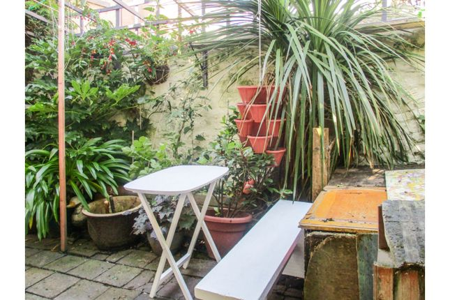 Rear Garden of Taliesin Street, Llandudno LL30