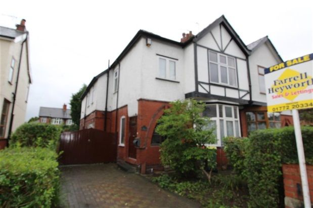 Thumbnail Property to rent in St Andrews Avenue, Ashton On Ribble, Preston