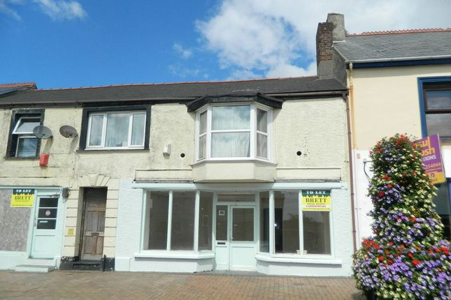 Retail premises for sale in Charles Street, Milford Haven