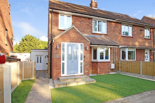 Thumbnail Semi-detached house for sale in Blamsters Crescent, Halstead