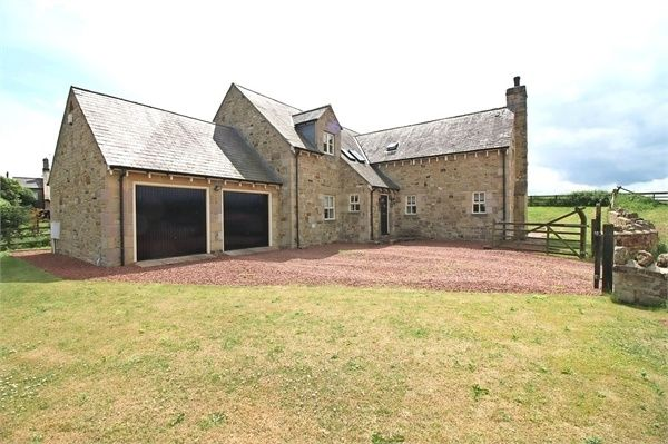Thumbnail Detached house for sale in South End, Longhoughton, Alnwick, Northumberland