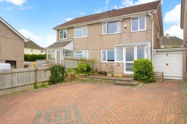 Thumbnail Semi-detached house for sale in Hawthorns, Saltash, Cornwall