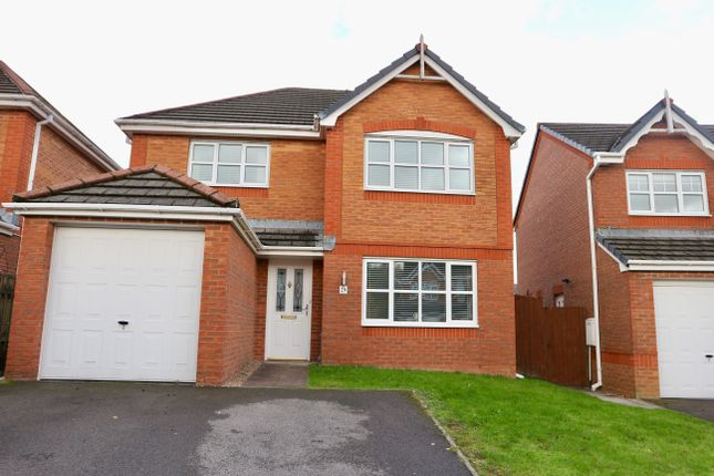 Thumbnail Detached house for sale in Dan Y Parc, Bradley Gardens, Merthyr Tydfil