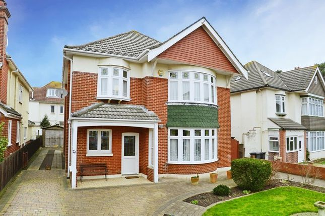 Thumbnail Detached House For Sale In Kings Park Road Bournemouth