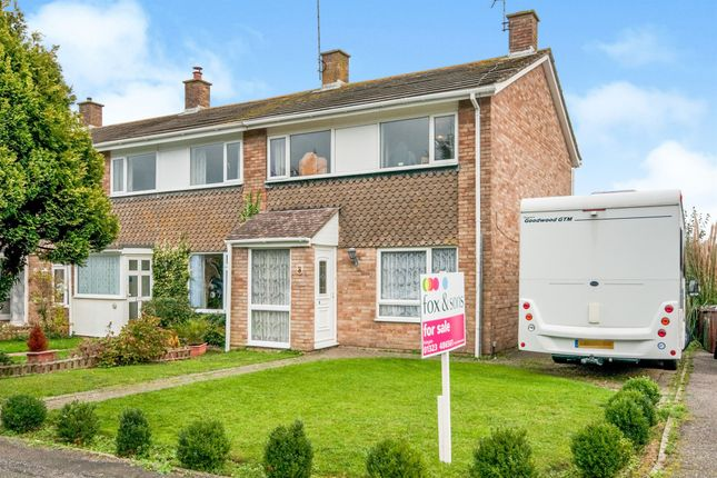 3 bed end terrace house for sale in Oxendean Gardens, Willingdon, Eastbourne BN22
