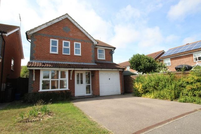 Thumbnail Detached house to rent in Centurion Walk, Kingsnorth, Ashford