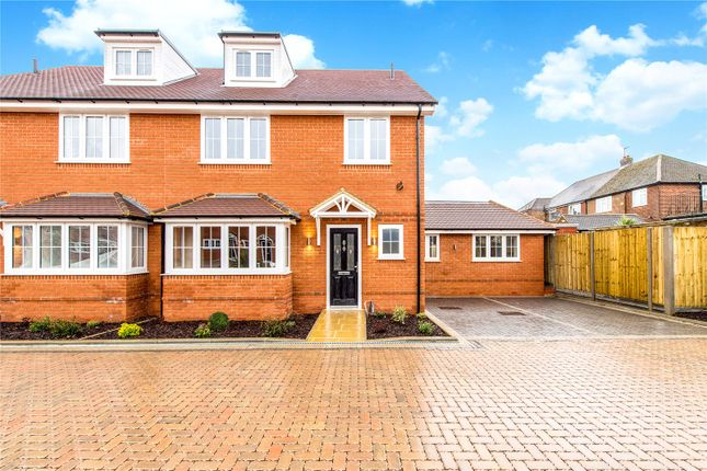 Thumbnail Semi-detached house for sale in Cressex Square, High Wycombe, Buckinghamshire